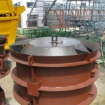 Металлическая форма колодезного кольца КС-15.9, Металлоформа КС-15.9, Ставрополь