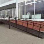 Металлическое крыльцо с пандусом, Ставрополь