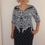 Платье трикотажное самми (абстракция), Ставрополь