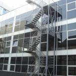 Производство металлической лестницы с ограждением., Ставрополь