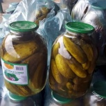 Огурцы консервированные на лимонке оптом, Ставрополь