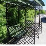 Садовая скамейка - арка металлическая (120х210 см), Ставрополь