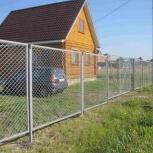 Забор из сетки рабица, Ставрополь