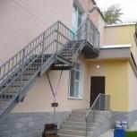 Пожарная стальная лестница для школы, Ставрополь